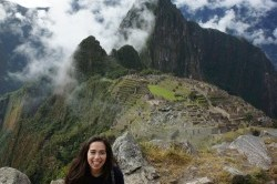 International Studies major Alex Benitez will spend the 2013-2014 academic year in France thanks to a Teaching Assistant Program award. She is shown here at Machu Picchu, one of several places she had the opportunity to visit during a fall 2011 stay in Peru as part of a Gilman International Fellowship.
