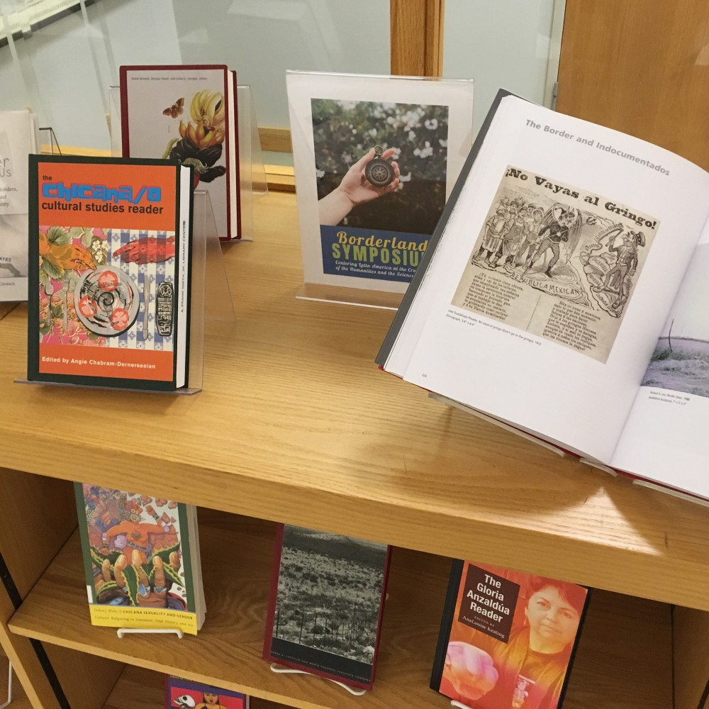 Borderlands Symposium Book Display 3