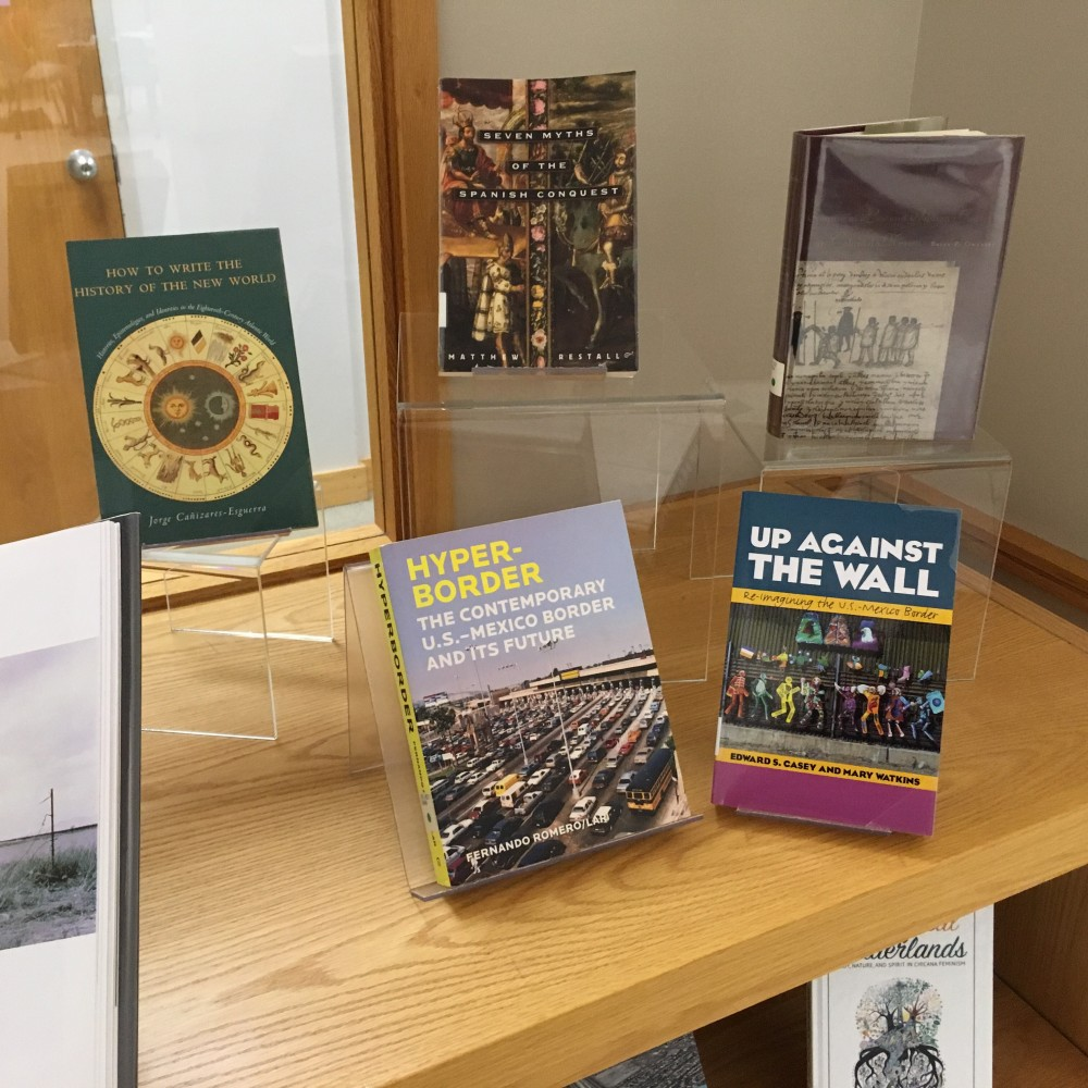 Borderlands Symposium Book Display 4