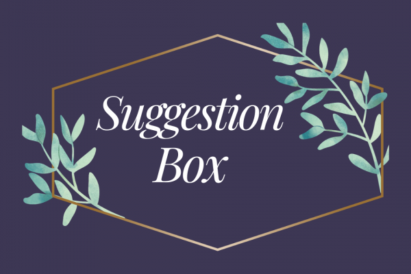 NEW Library Suggestion Box