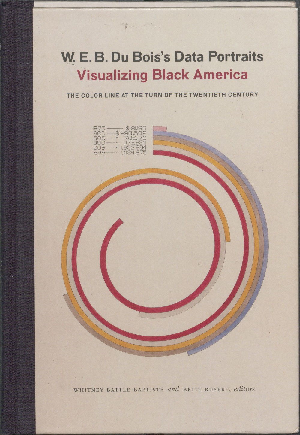 Cover, W.E.B Du Bois's Data Portraits Visualizing Black America: The Color Line at the Turn of the Twentieth Ce...
