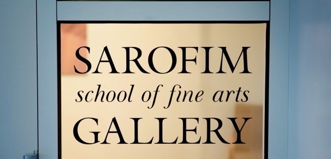Sarofim Fine Arts Gallery. Open Tuesday-Sunday from 12:00pm-5:00pm