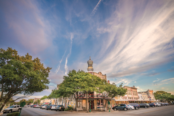 Historic Square in Georgetown, Texas