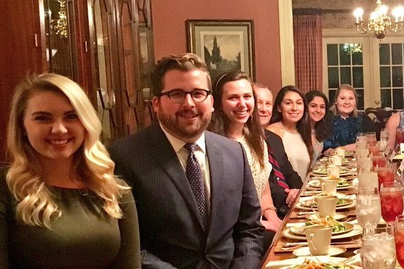 President's Table Dinner, Nov. 17, 2017