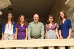 2011 Phi Beta Kappa Inductees:  Amy Crook (Soc), Kate Roberts (Soc), Dr. Edward L. Kain (Soc, Phi Beta Kappa member), Ursu...