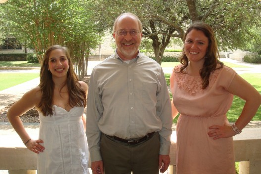 Anna Fetchick, Dr. Edward L. Kain, and Kristi Lenderman