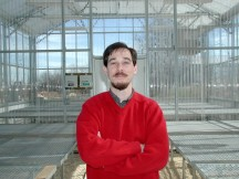 Prof. Taub in greenhouse