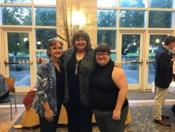 Christy Schaller, Jan Williams and Romi Burks have worked together for many years on SMArTeams