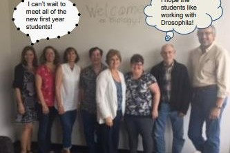 The Biology Department faculty and staff welcome you to the 2017-18 school year!