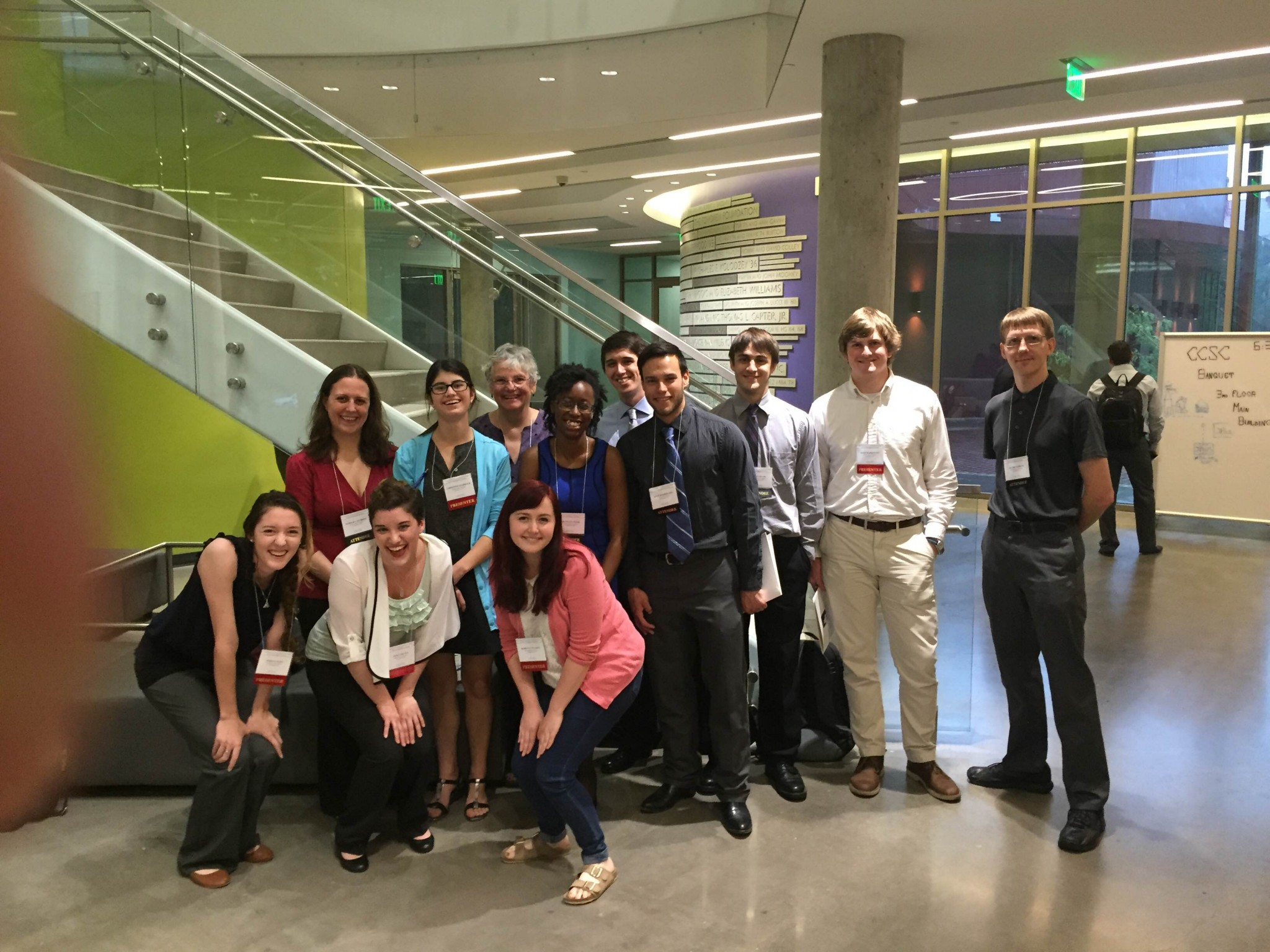 CCSC 2015 attendees from SU