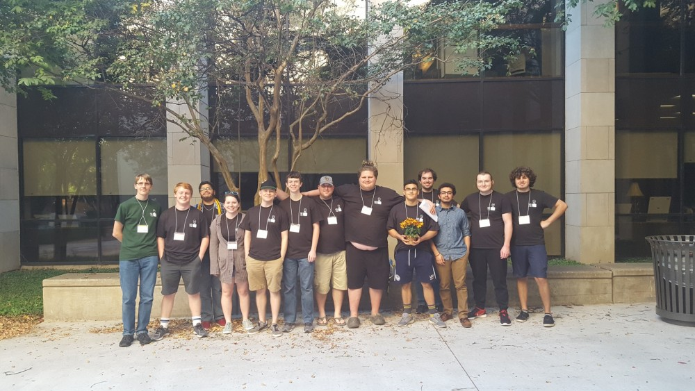 SU Students in attendance at the 2016 ACM SCUSA Programming Contest