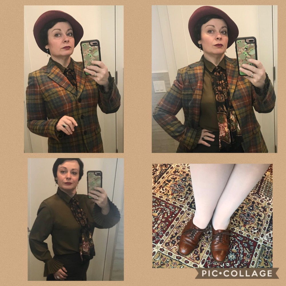 Rodriguez Cottrell's Vintage Outfit