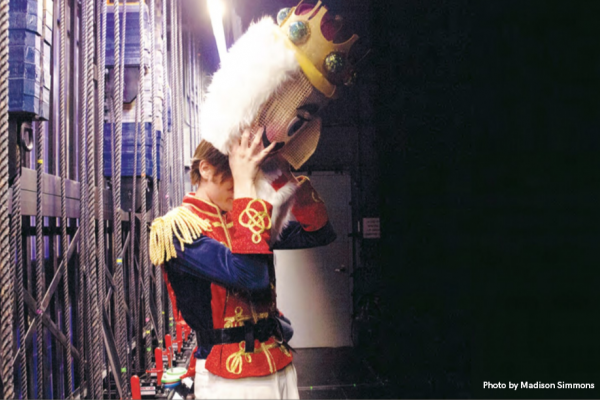 Theatre major Luke Oliver Came to the Rescue for the Nutcracker Ballet