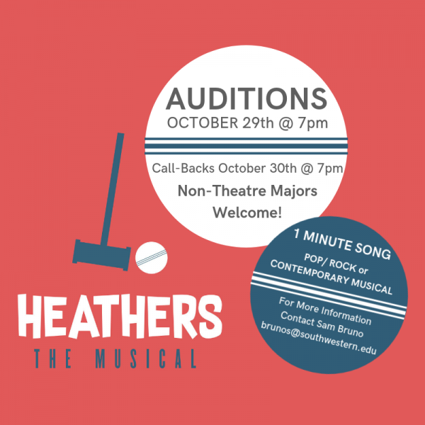 Heathers Auditions