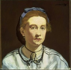 Edouard Manet, Portrait of Victorine Meurent, c. 1862
