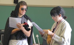 """Reporting Alexander the Great"" FYS 2012: ""Laser cats…Very mysterious"""