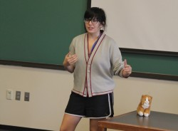 """Reporting Alexander the Great"" FYS 2012: ""I am a serious director. Yes, I am fully aware that there is a stuffed to..."
