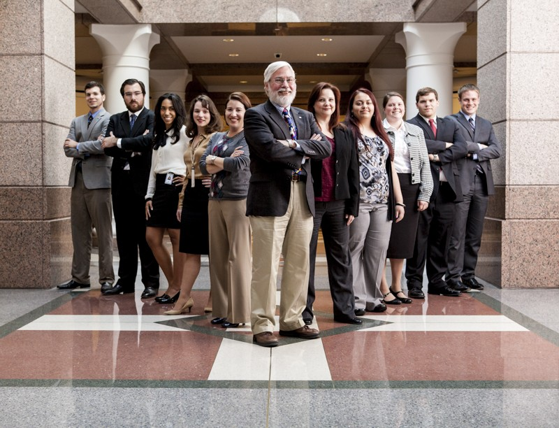 Ten students from Southwestern are doing internships at the State Capitol this semester through the Texas Politics Interns...