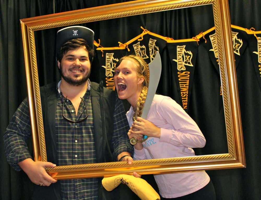 Edward Williams and Emily Havlick are among the members of the Class of 2013 who will be graduating in May. The two posed ...