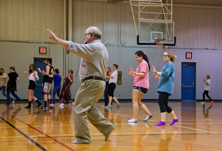 Sociology professor Ed Kain has been teaching a popular Social Dance class on and off at Southwestern since 1987. (Photo b...