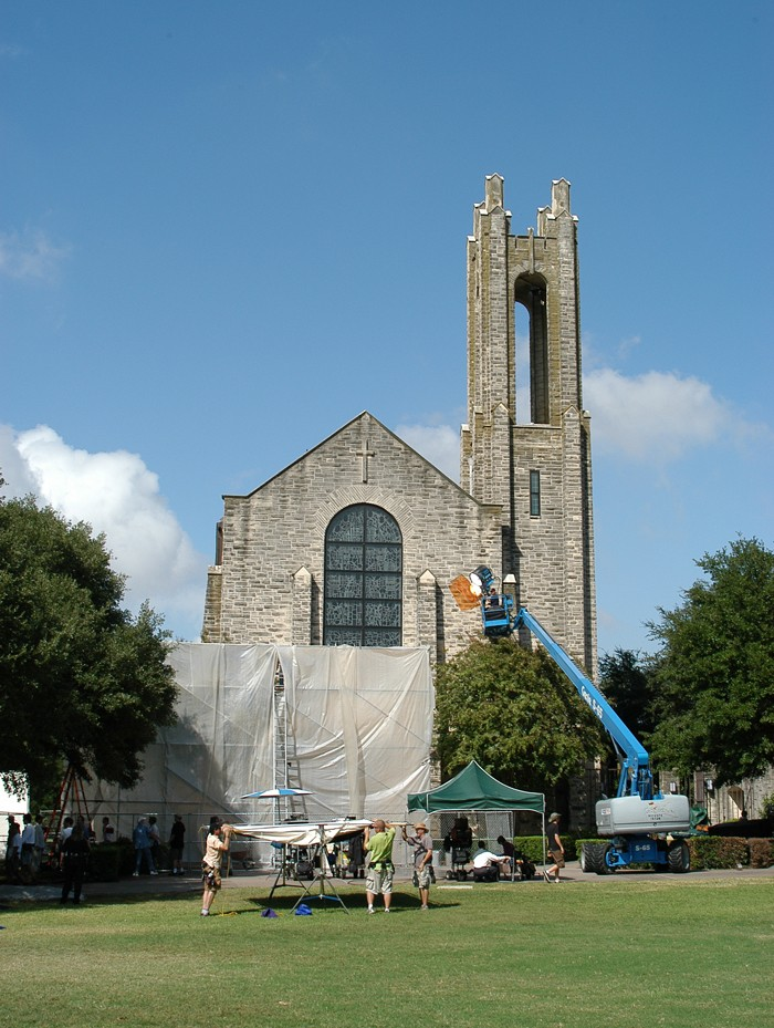 Several scenes for an HBO movie on the life of Temple Grandin were filmed at Southwestern in 2008.