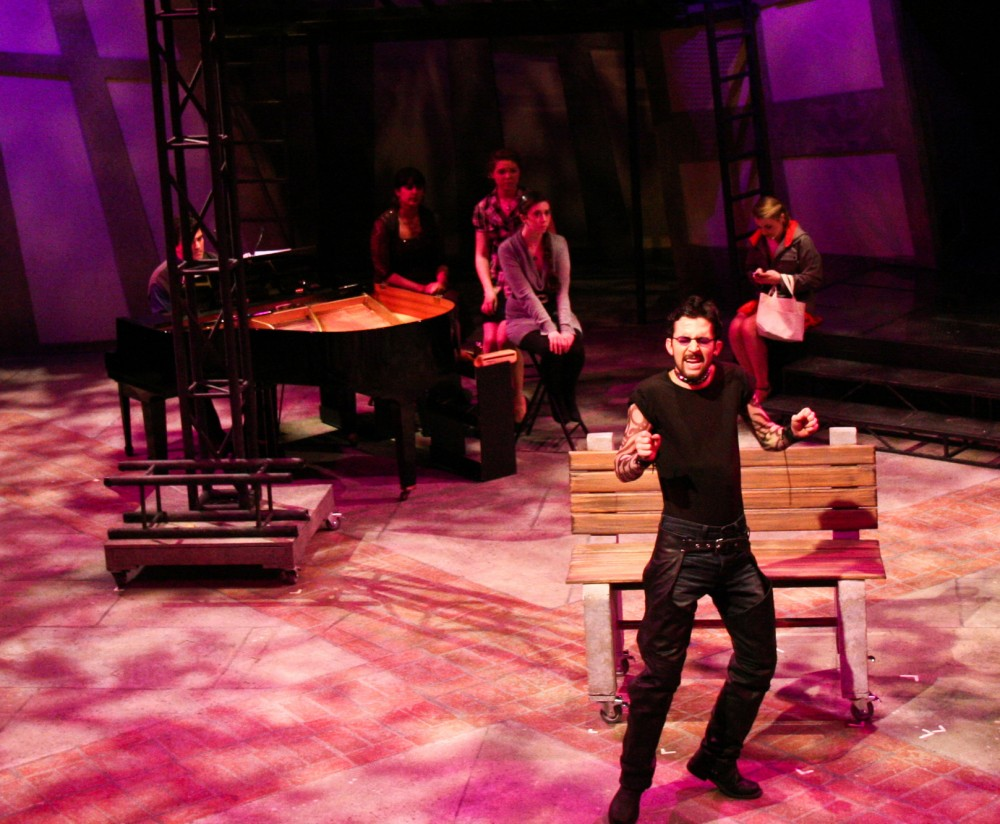 "Robert Frost, shown here in Southwestern's 2011 production of ""Into the Woods,"" is among the 10 students go..."