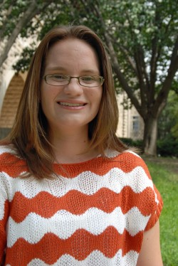 2005 graduate Erin Crockett is now an assistant professor of psychology at Southwestern.