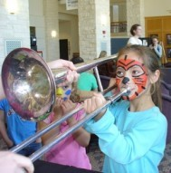 An instrument petting zoo will be among the highlights of the Feb. 7 SU Arts Festival