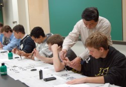 Harrison Tu, a well-known Chinese calligrapher, is among the calligraphers who will be coming to Southwestern in October t...
