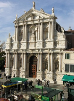 Chiesa degli Scalzi (Church of the Scalzi) in Venice is one of four venues where the SU Chorale will sing during its trip ...