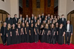 Members of the SU Chorale are getting ready for a trip to Italy in March. (Photo by Lucas Adams)