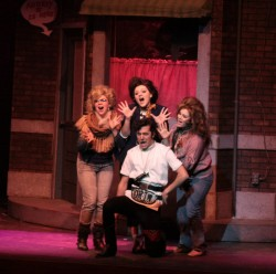 "Frost played the crazy dentist Orin in the spring 2013 production of ""Little Shop of Horrors."""