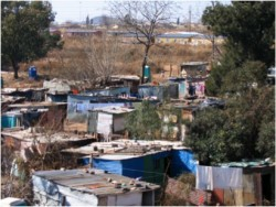 This photo of an informal settlement in Soweto, South Africa, will also be included in The South Africa Reader: History, C...