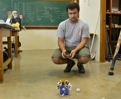 Amir Ardjomand Hessabi plans to use his King Creativity grant to make joints for a robot that can mirror human movements. ...
