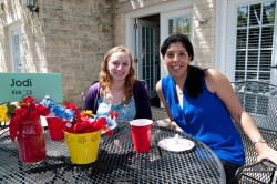Chemistry professor Maha Zewail-Foote (right) helped 2012 graduate Jodi Kirk land a job with a company in Round Rock that ...