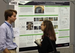 Garth Ornelas presented a poster based on his research at the December 2013 meeting of the American Geophysical Union in S...