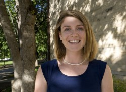 Senior environmental studies and international studies major  Sarah Puffer will be the 2014 student commencement speaker.