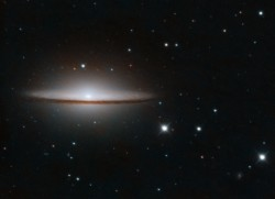 Taylor Hutchinson, Raina Musso and Francis MacInnis captured this image of the Sombrero Galaxy using the research telescop...