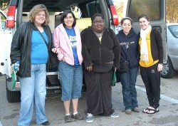 This group is heading to Houston to work with Goodwill Industries.