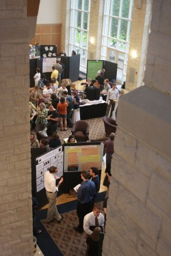 More than 100 student research and creative works projects will be on display April 15.