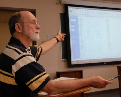 Business professor A.J. Senchack created Southwestern's Financial Analyst Program in 1999.