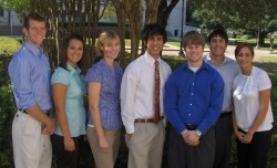 These students participated in the Financial Analyst Program for the 2008-09 academic year.