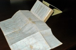 This 1856 book that was recently restored includes a rare map of Texas.
