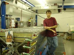 Senior physics major Pelham Keahey is doing an internship at the University of Münster Institute for Nuclear Physics in M...