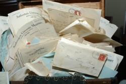 Louise Walsh wrote a book based on these letters written to her grandmother, Early Price.