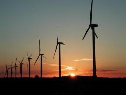 As of January 2010, all of Southwestern's electricity will come from wind farms in West Texas.