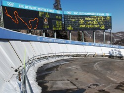 Kinesiology Professor Scott McLean worked with the US. Bobsled team last spring at the site of the 2002 Winter Olympics in...