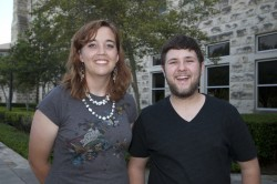 May graduates Emily Gutzmer and Zach Zeman will be heading to Germany to work as Fulbright English Teaching Assistants (Ph...