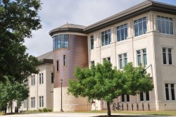 The Prothro Center is the second building at Southwestern to earn LEED certification.