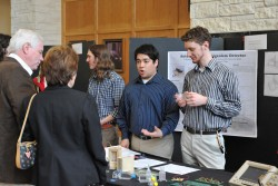 Four students will continue work this year on an automated microorganism detector that was started as a King Creativity pr...